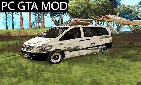 Free Download Mercedes Benz Vito  Mod for GTA San Andreas