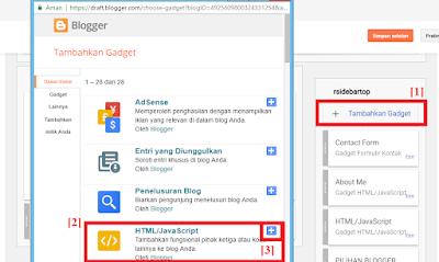 [Script Code] Membuat Widget Cuplikan Profil dan Text Pada Blogspot