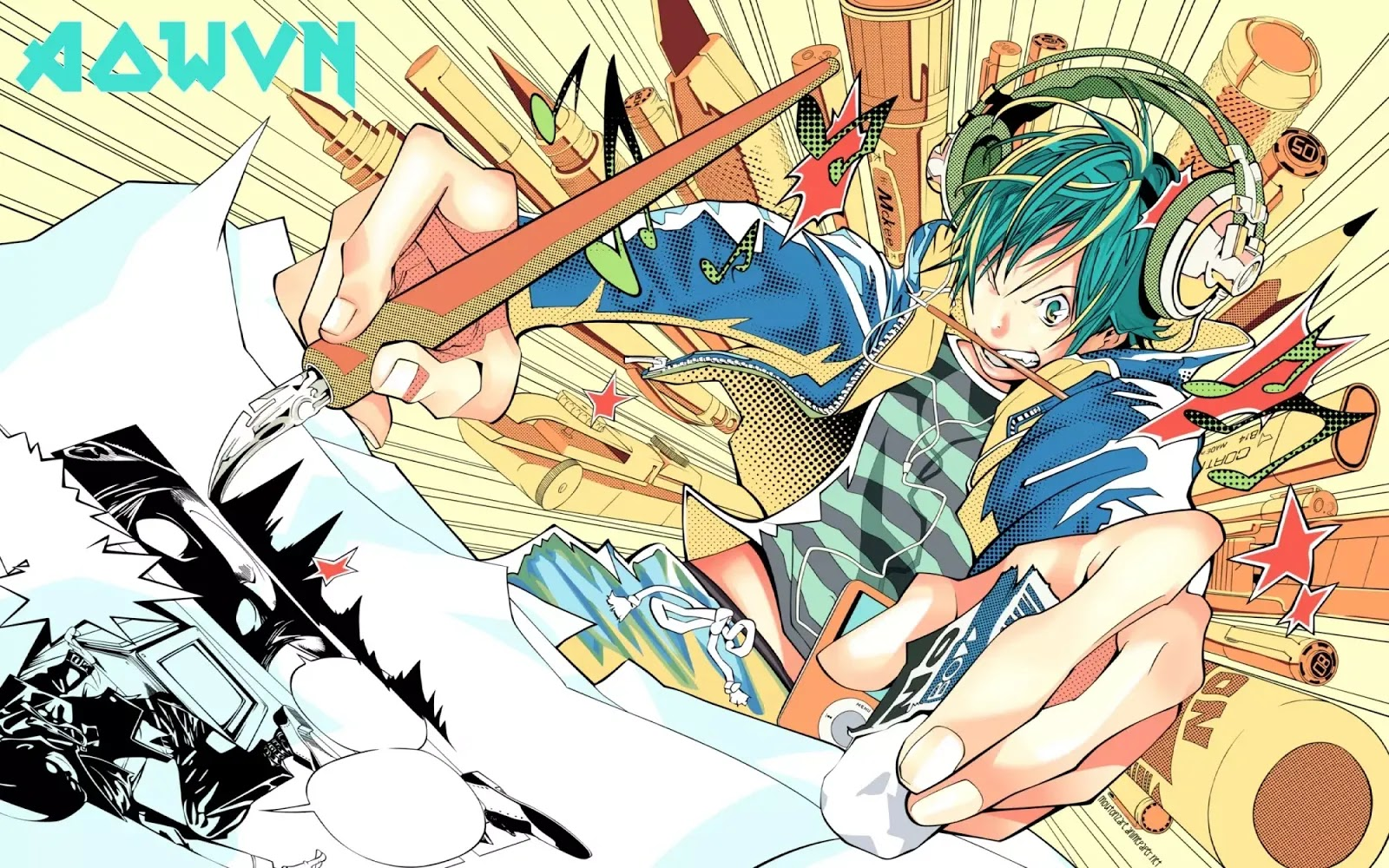 Mashiro.Moritaka.full.278205 - [ Lossless & 320kbps ] Anime Bakuman Full OP & ED | Anime Musics
