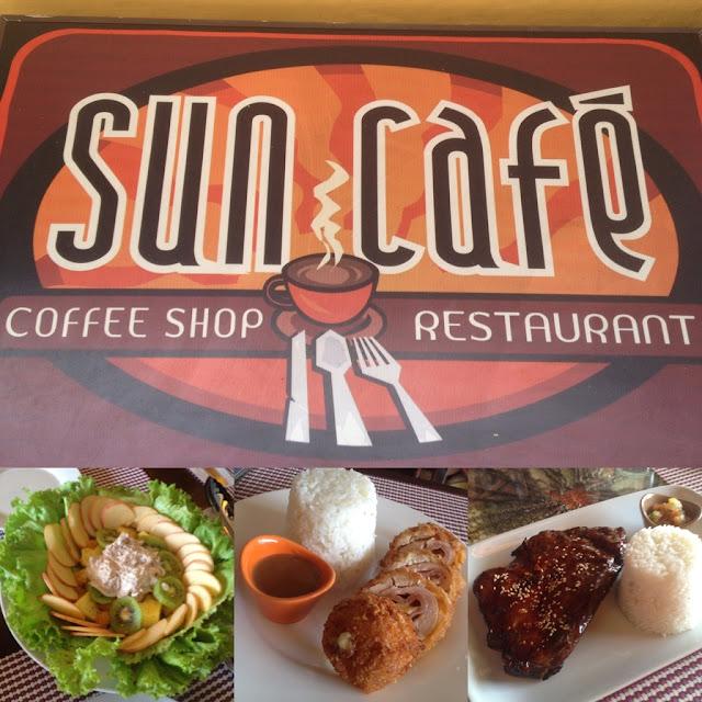 Sun Cafe in Tagbilaran City Bohol Central Visayas Philippines