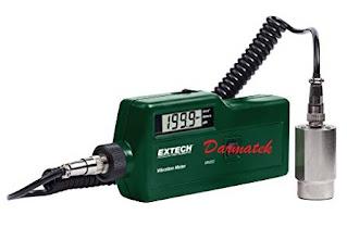 Darmatek Jual Extech VB450 Vibration Meter with Magnetic Sensor
