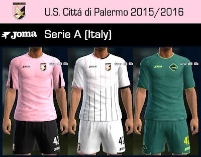 PES 2013 U.S. Cittá di Palermo 2015/2016 by Dark Shimy