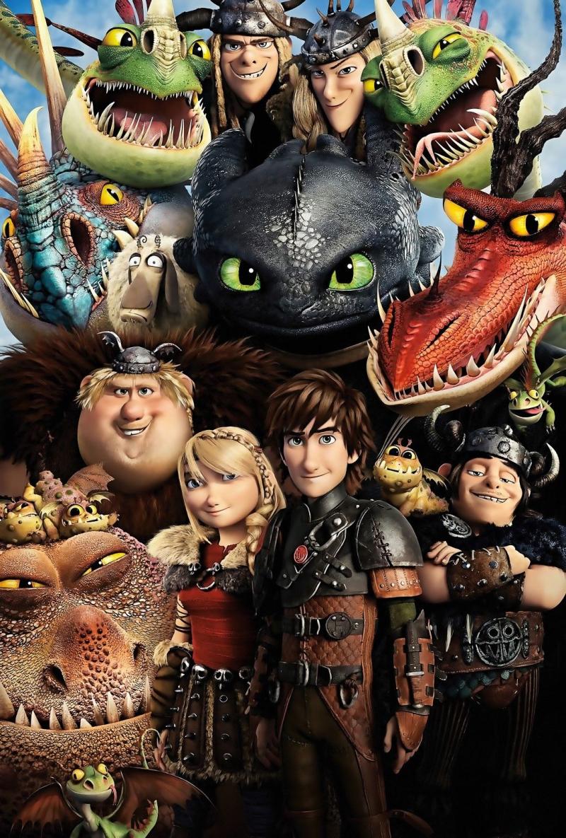 Xem Phim Bí Kíp Luyện Rồng: Hướng Tới Trạm Rồng 2016