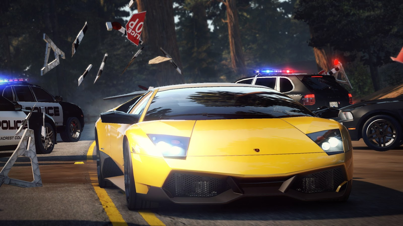 Need for Speed: Hot Pursuit (2010) torrent download for PC