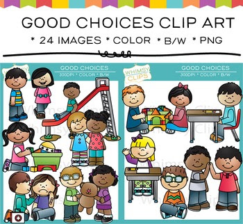 https://www.teacherspayteachers.com/Product/Good-Choices-Clip-Art-1617643