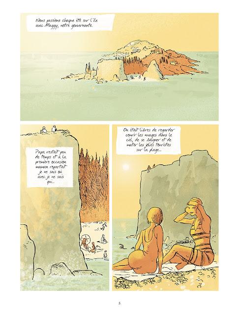 """Page de """"JE SUIS UN AUTRE"""" de Lautent Gnoni et Rodolphe chez Delcourt"""
