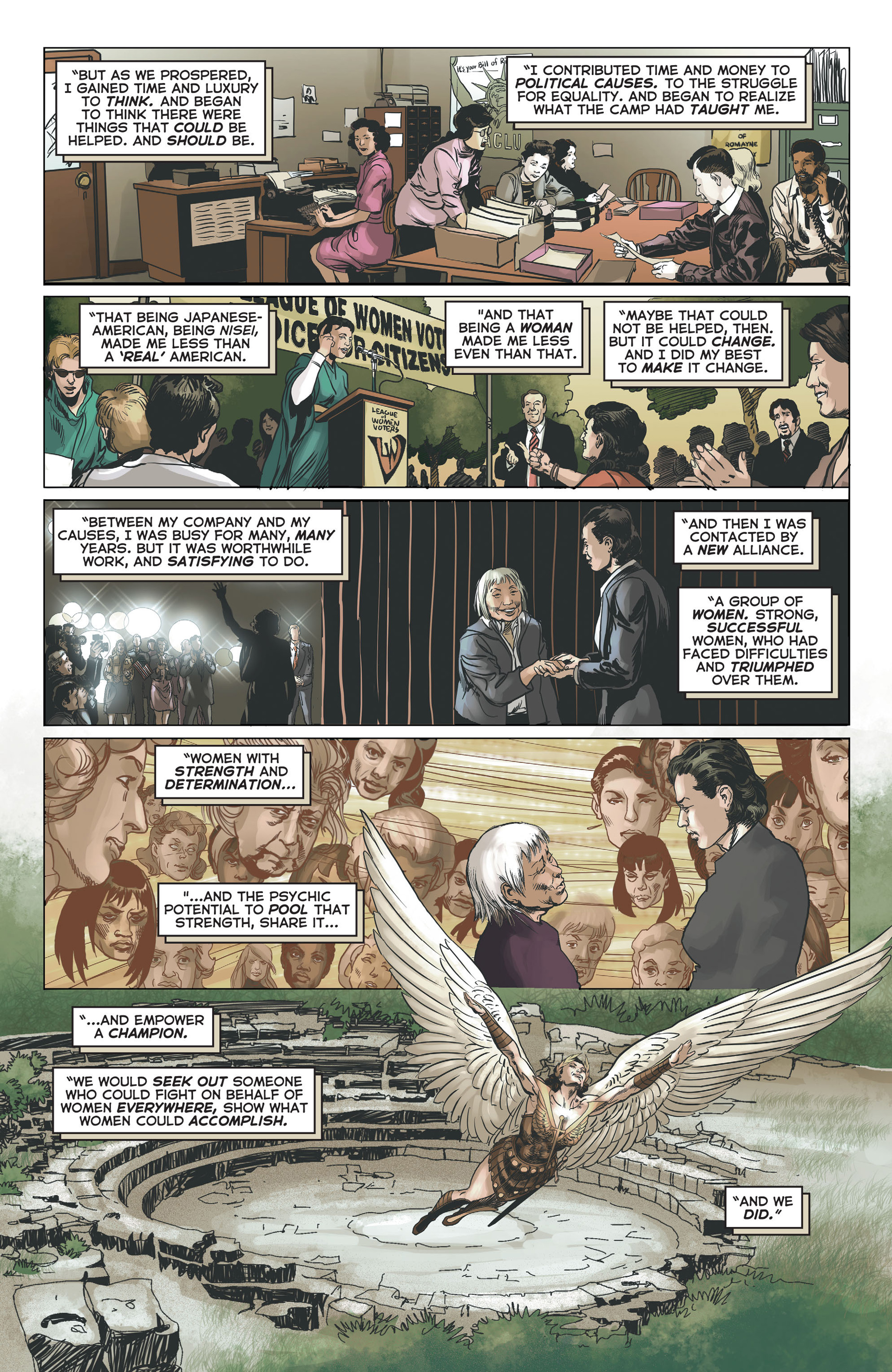Read online Astro City comic -  Issue #9 - 20