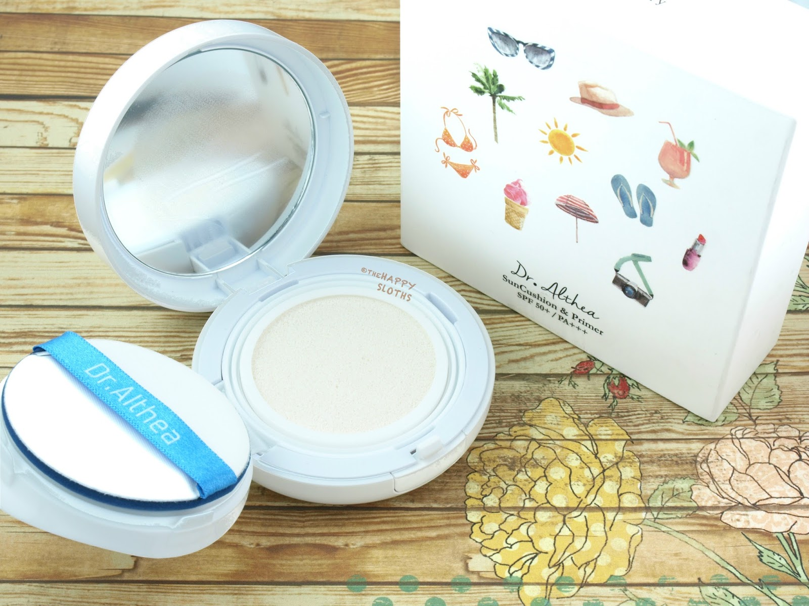 Dr. Althea Sun Cushion & Primer: Review and Swatches
