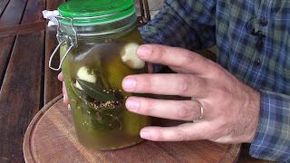Pepinos en conserva con fermentación natural, facil y saludable - 4