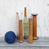 Primitive spindle bobbins