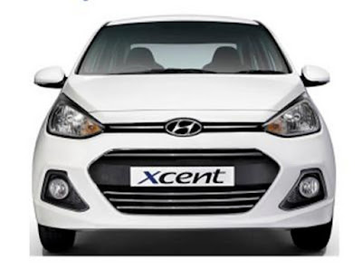 2017 Hyundai Xcent Facelift front view image hd