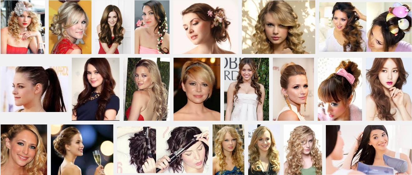 Model Rambut Ke Pesta Trendy Dengan Blow dan Curly
