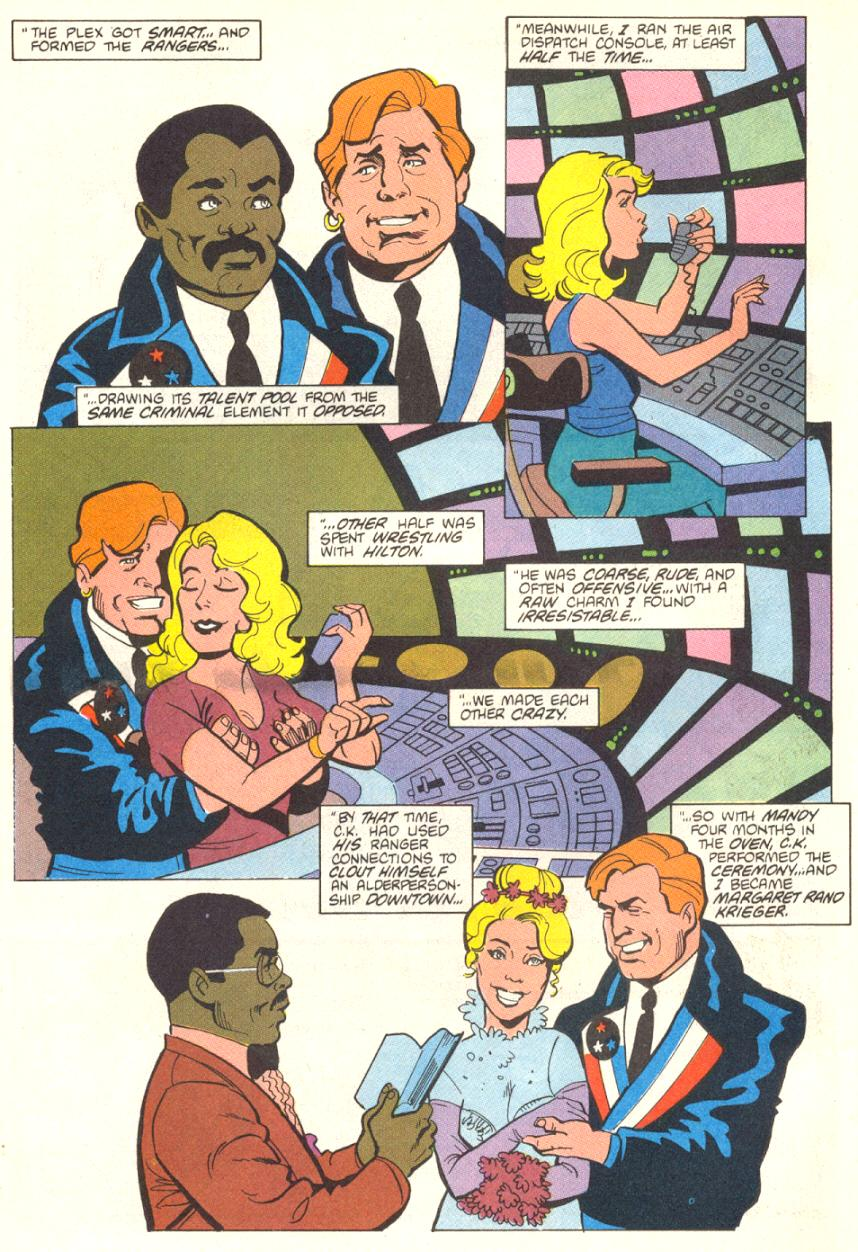 Read online American Flagg! comic -  Issue #13 - 21