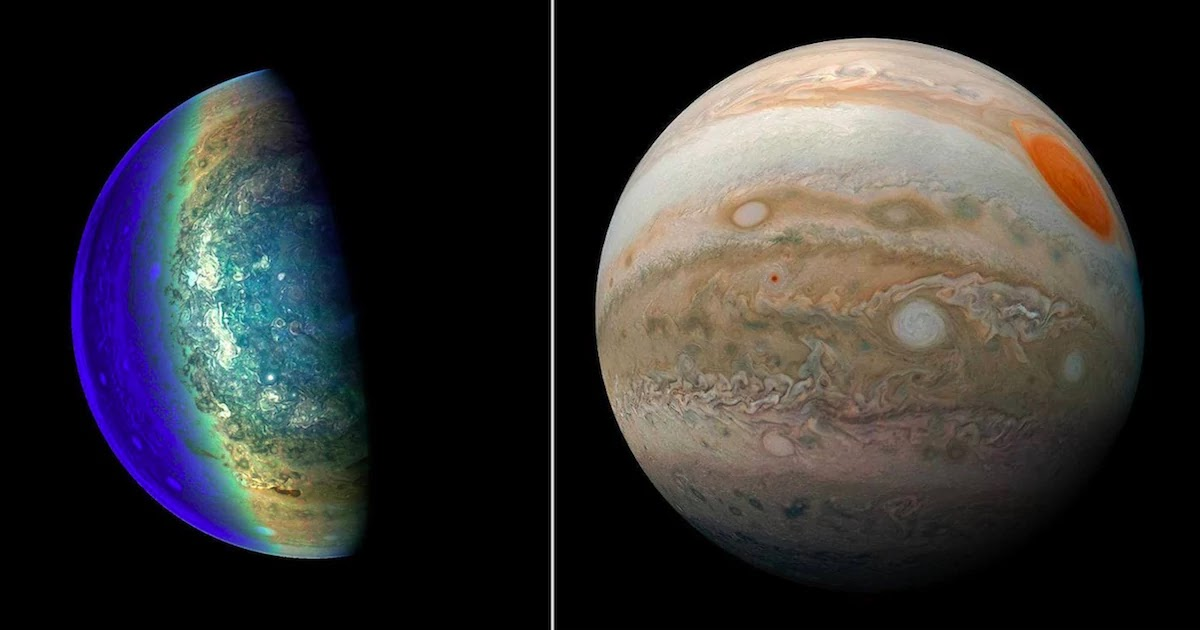 Nasa Releases Stunning New Images Of Jupiter