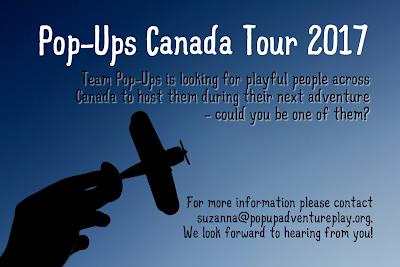 Pop-Ups Canada Tour 2017