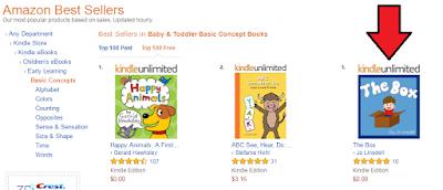 亚马逊上的畅销书。《盒子》,Jo Lin18luck网站sdell著#KidLit #图画书
