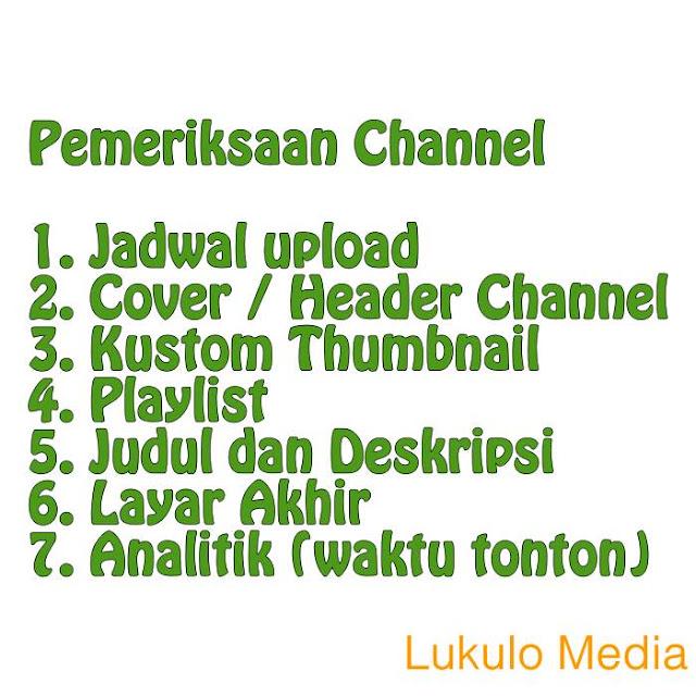 Periksa Channel Youtube Kamu dan Ada Tips Meningkatkan Jumlah Tayang dan Waktu Tonton loh!