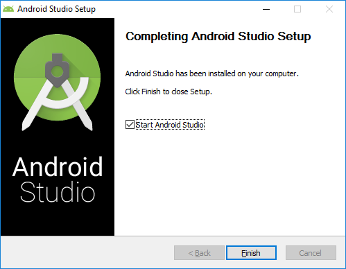 7. android studio installation