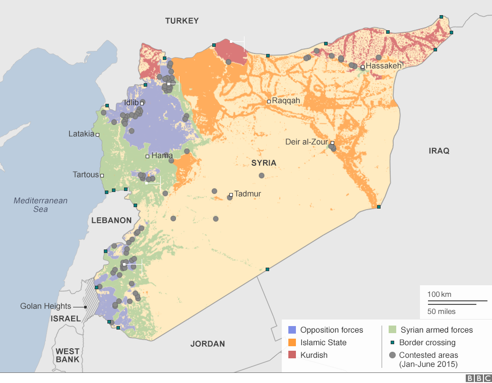 Russia 39 s Map of the Syria Conflict Fort Russ