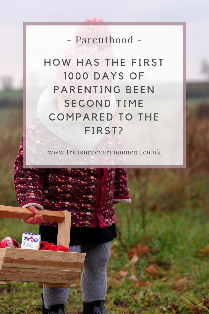 PARENTHOOD: How has the first 1000 days of parenting been second time around compared to the first?