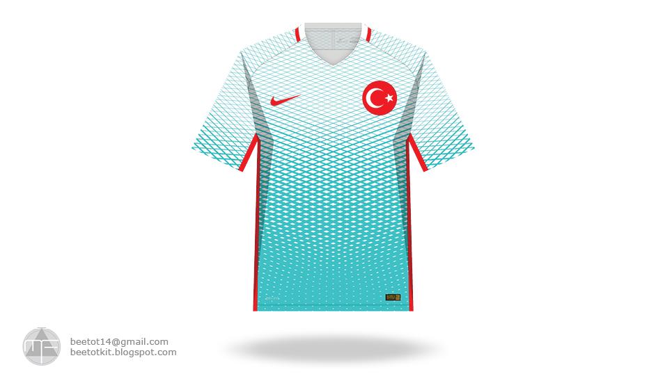 b5b040affbd Beetot Kit: Turkey Euro 2016 Kit