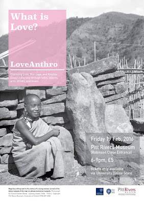 Poster for the LoveAnthro student takeover event
