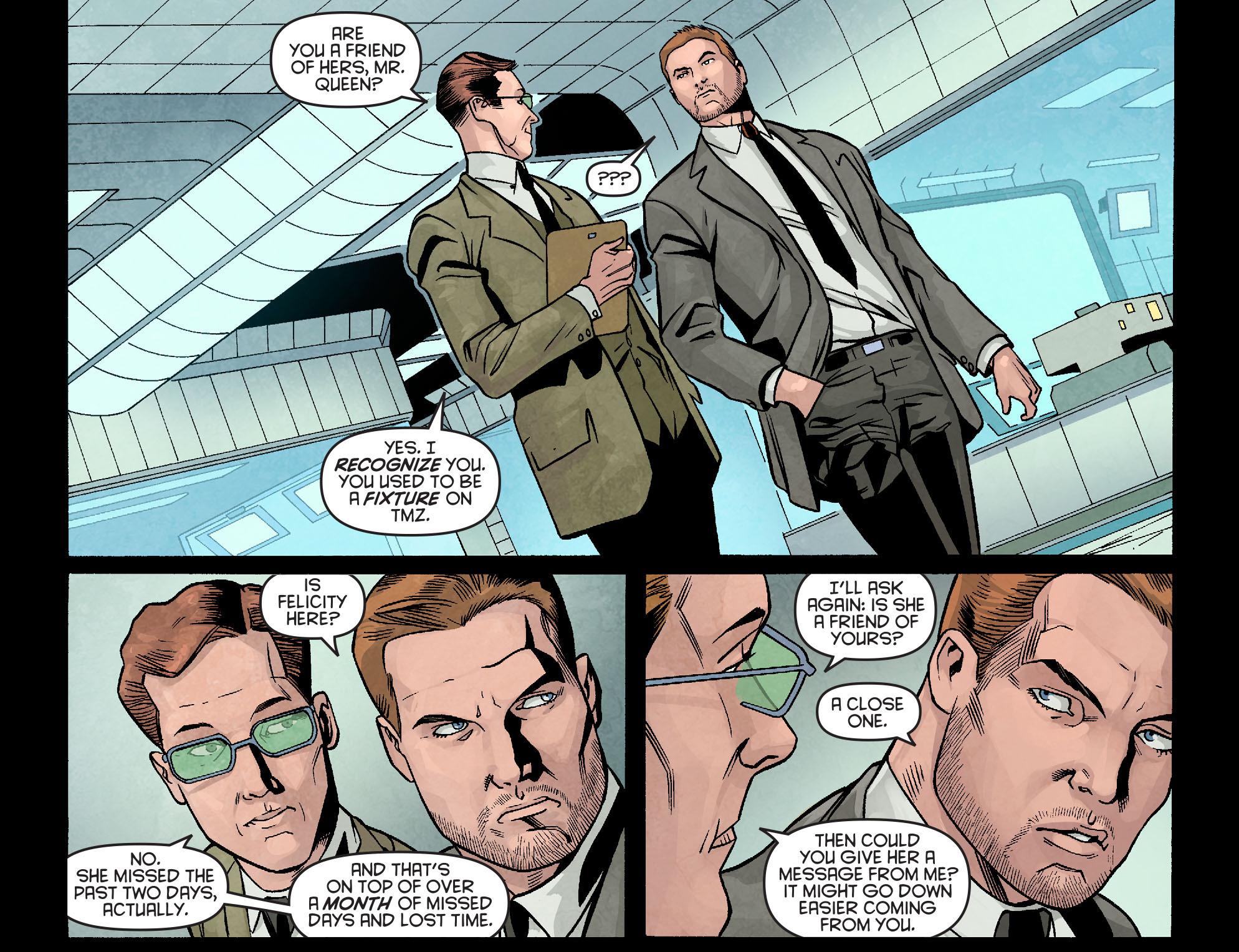 Read online Arrow: Season 2.5 [I] comic -  Issue #10 - 15