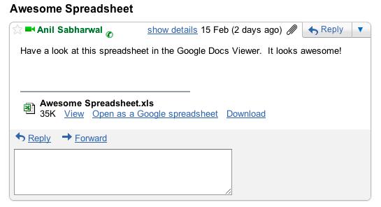 Le Lecteur Google Docs supporte désormais 12 formats de fichiers supplémentaires.