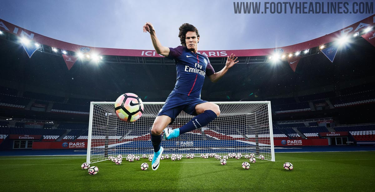 PSG: PSG 17-18 Home Kit Revealed