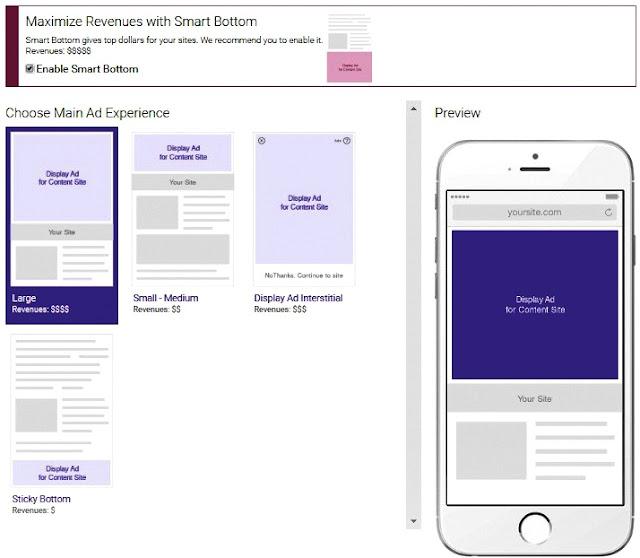 Iklan AdsOptimal - Pilihan iklan Mobile