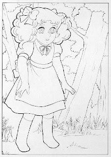 Ilustraciones Candy Candy