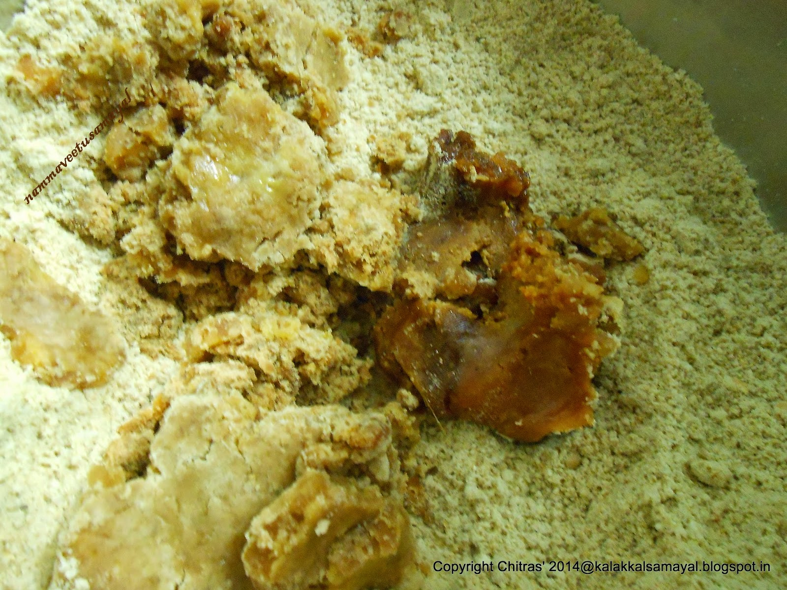 Add Jaggery to the mixture