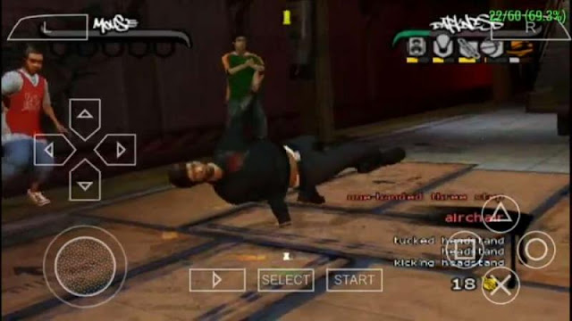 Download B-Boy PSP zona-games.com