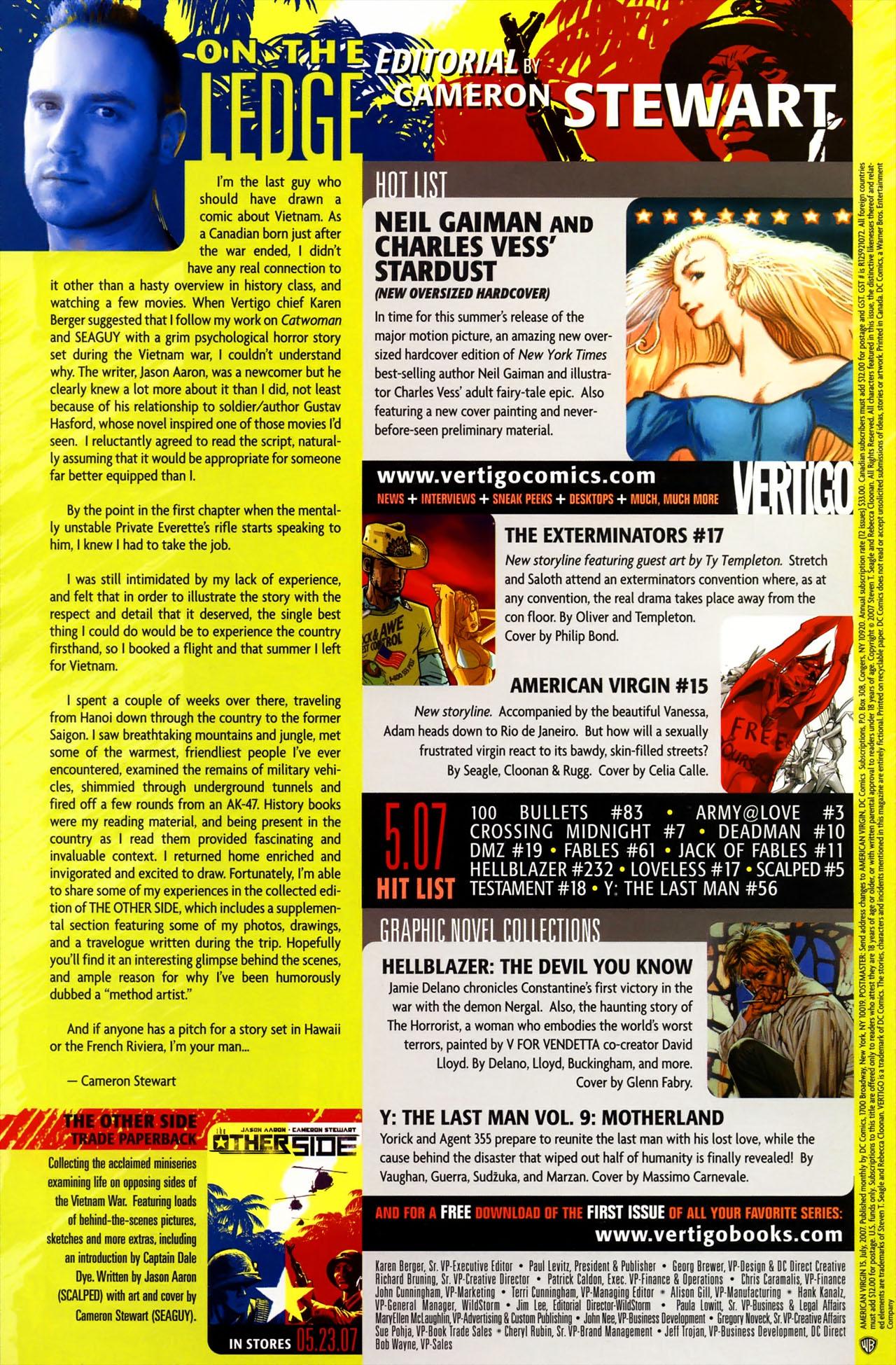 Read online American Virgin comic -  Issue #15 - 32