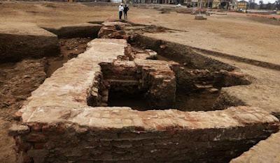 Λουτρά της ελληνορωμαϊκής περιόδου ανακαλύφθηκαν στη Γαρμπία της Αιγύπτου