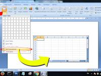 Cara Memasukkan Tabel Excel ke Halaman Kerja Word