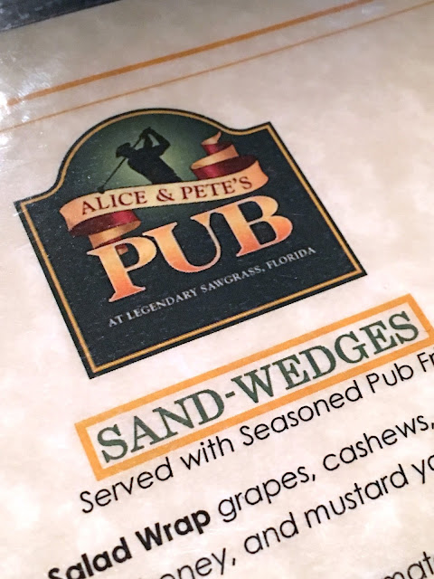 Pete and Alice's Pub at Sawgrass Marriott in Ponte Vedra, FL
