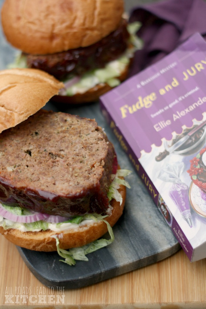 Rosemary and Sundried Tomato Meatloaf Sandwiches inspired by Fudge and Jury