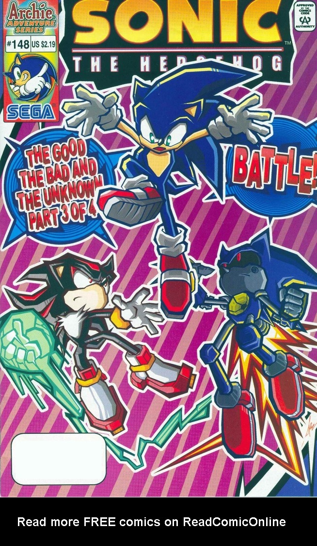 Read online Sonic The Hedgehog comic -  Issue #148 - 1