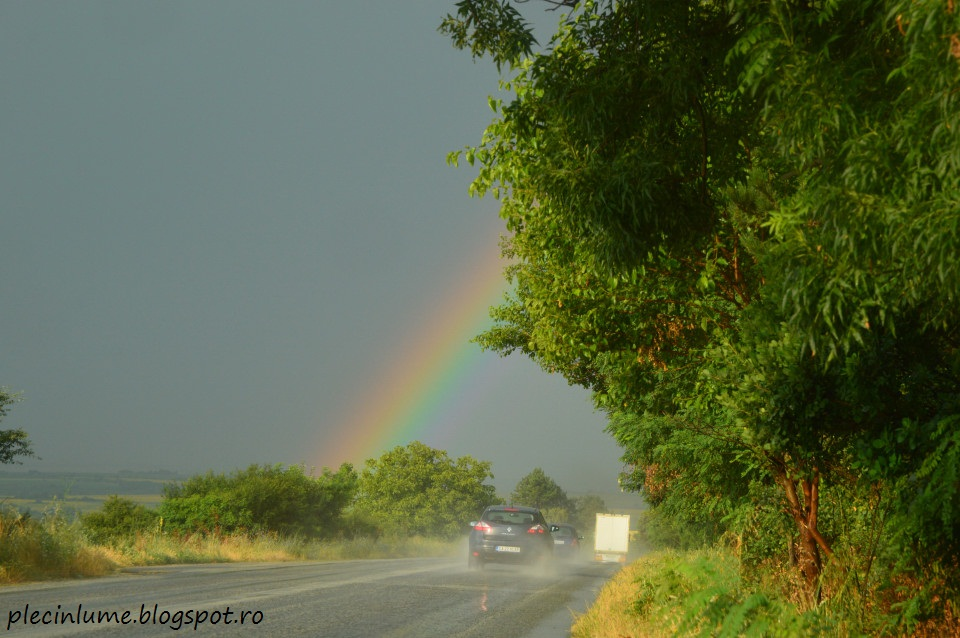 Drumul prin Bulgaria spre Corfu