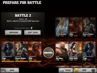 Sebuah game dengan aroma pertarungan yang brutal buatan Netherrealm studios Unduh Game Android Gratis WWE Immortal apk + data
