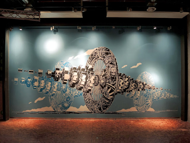 New Indoor Piece By Polish Artist M-City At The Sandnes Science Museum In Norway 1