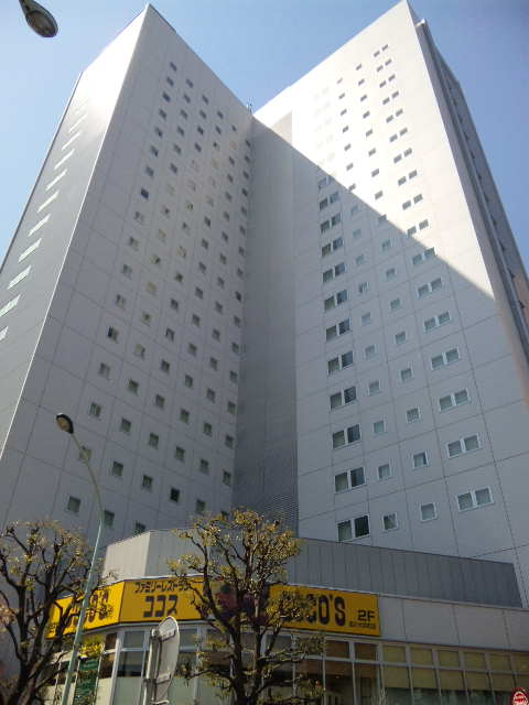建物記録: ホテルヴィアイン東京大井町