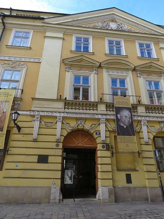 Dom nr 21 przy ulicy Kanoniczej.