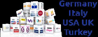 Kodi Sky Germany UK Italy BeIN Turkey USA TSN