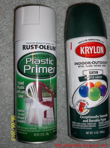 In Karl's Lab: Painting PVC Pipe