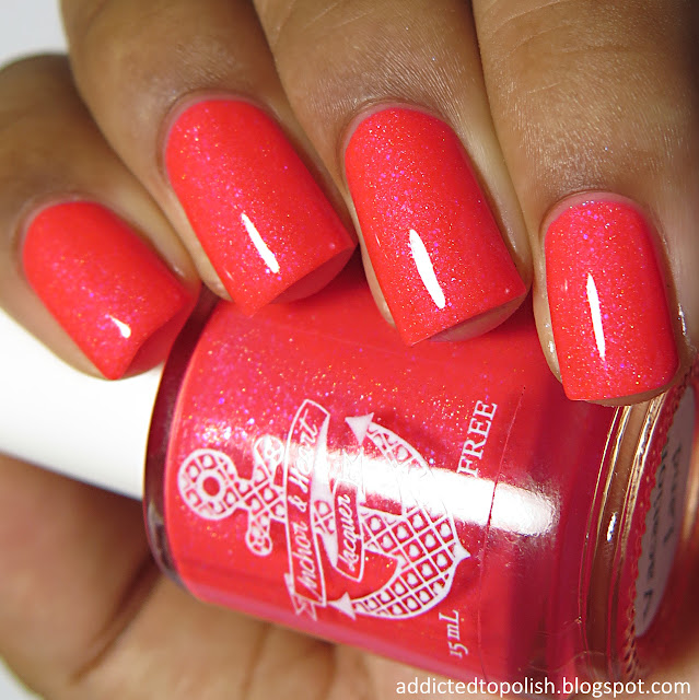 anchor and heart lacquer vacation land