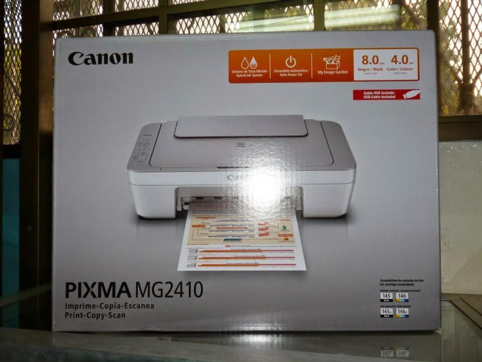 Reset Printer Canon Mg2410 Eliminate Errors P07 E08