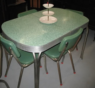 1960s kitchen table set
