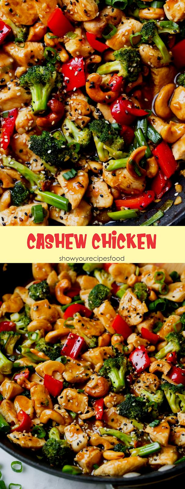 Cashew Chicken Show You Recipes